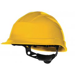 SAFETY HELMET WITH CHIN STRAP