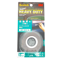 3M SCOTCH SUPER HEAVY DUTY DOUBLE SIDED TAPE VEHICLE EXTERIOR