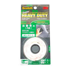 3M SCOTCH SUPER HEAVY DUTY DOUBLE SIDED TAPE VEHICLE INTERIORS