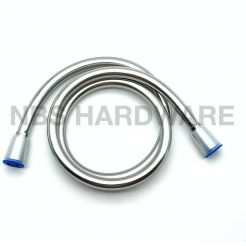 ANTI-TWIST SILVER PVC SHOWER HOSE