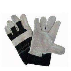 JEANS LEATHER GLOVE
