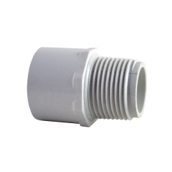 PVC MI SOCKET WHITE