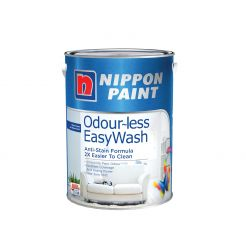 NIPPON  5 LITRES ODOUR-LESS EASY WASH WALL PAINT
