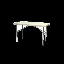 HARD PLASTIC FOLDING TABLE